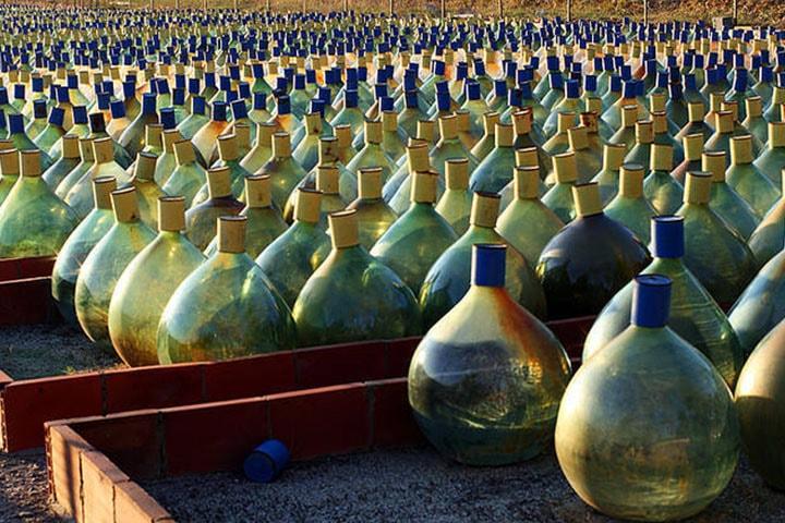 cours doenologie et degustation de vin L'élevage oxydatif des Vins Doux Naturels dans le Languedoc-Roussillon