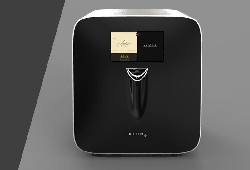 Réfrigérateur Plum pour conserver les bouteilles de vins