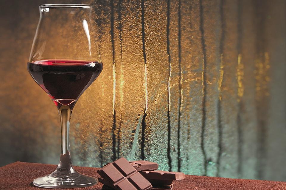 Les accords entre le vin et le chocolat