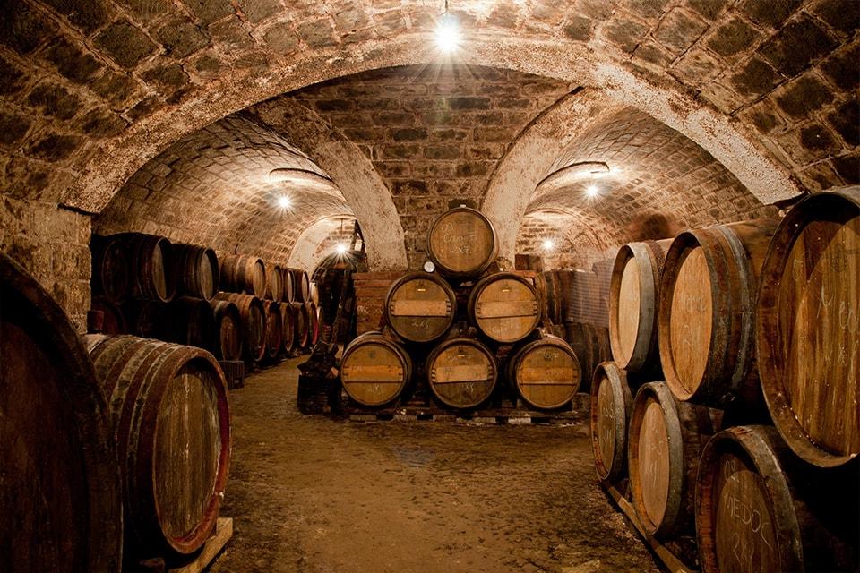 Les caves du Domaine Grand' Cour