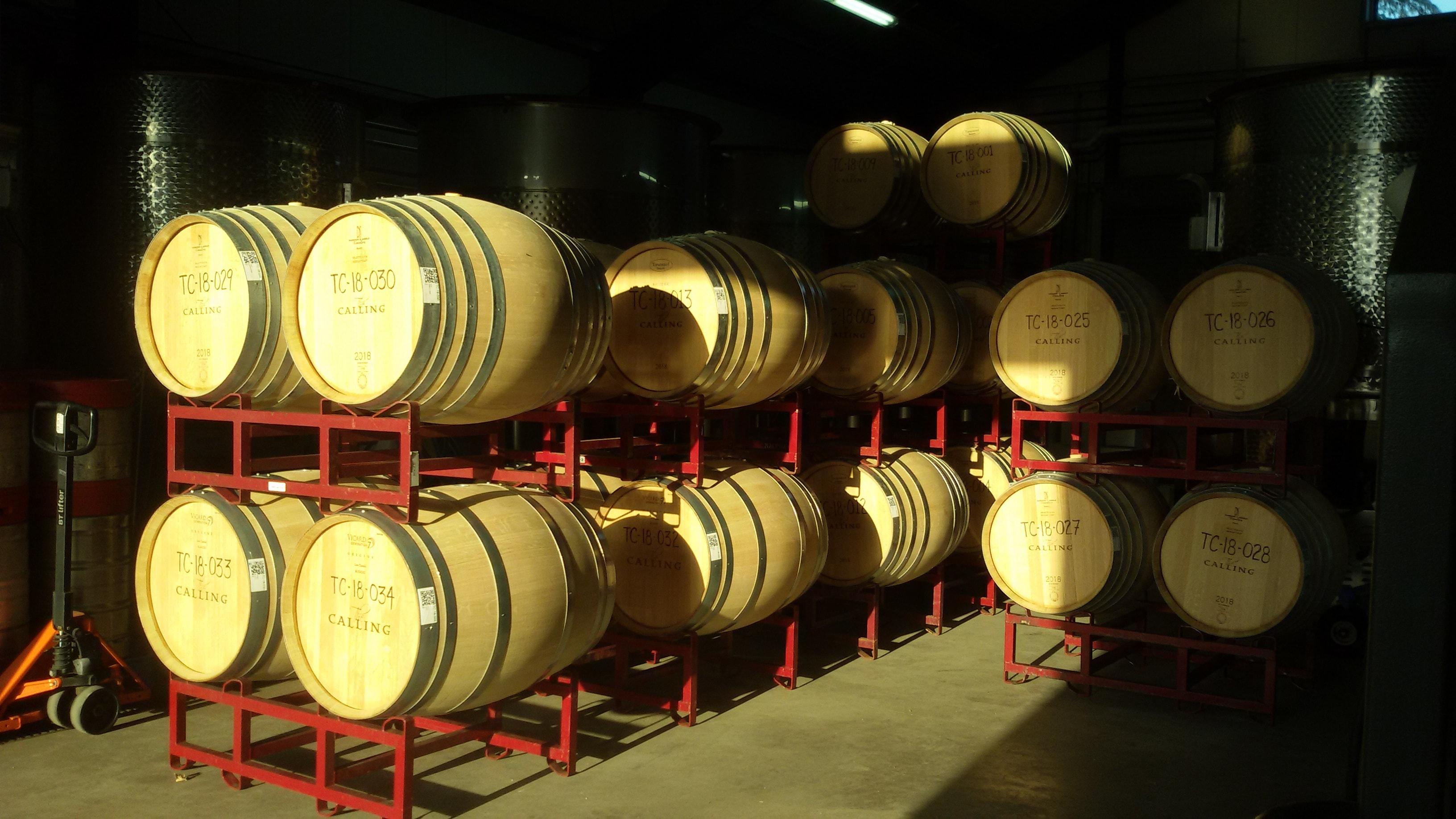 En cave, les intrants œnologiques sont très fortement limités pour les vins en biodynamie