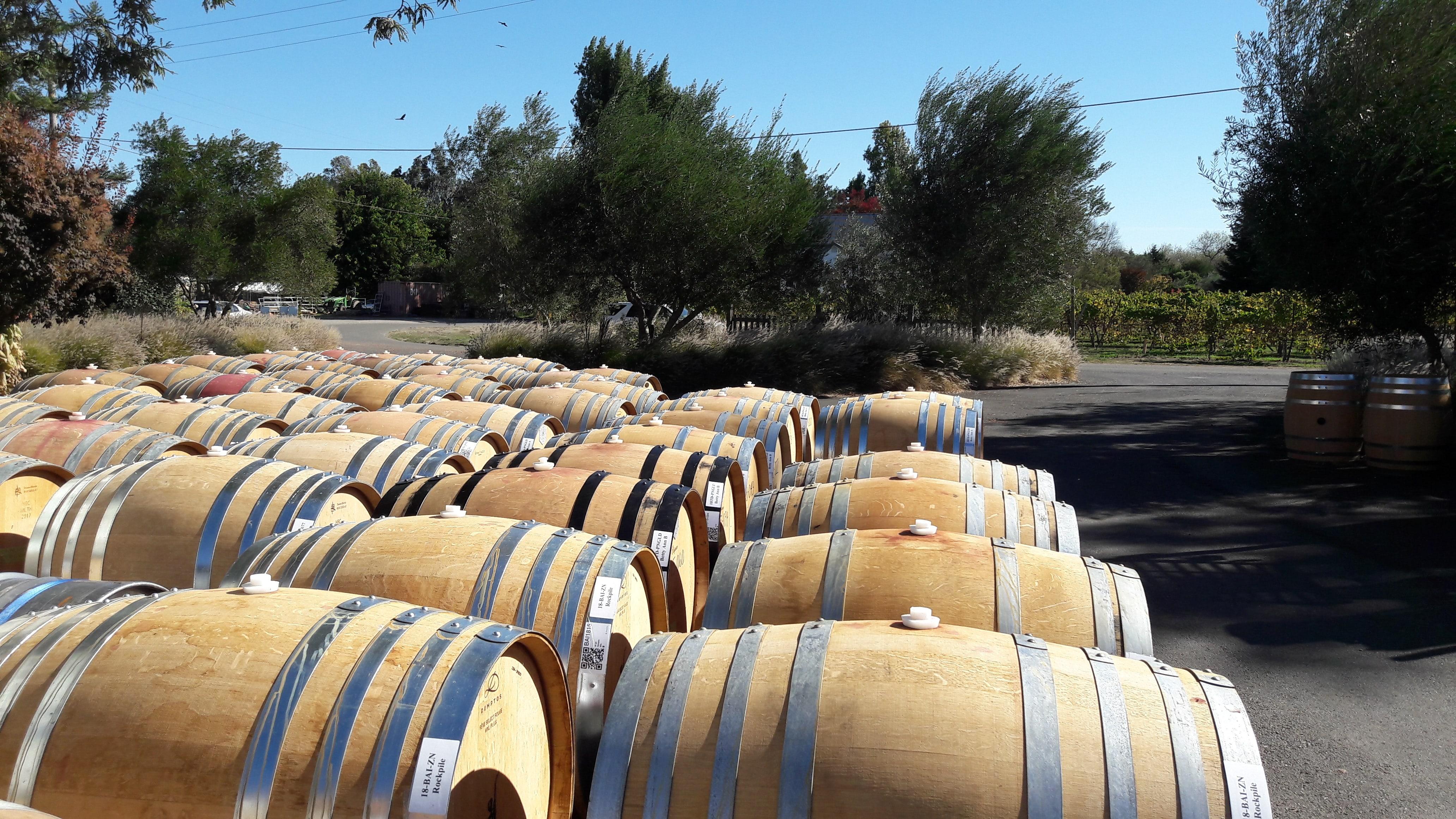 L'élevage en barrique est une source aromatique pour le vin