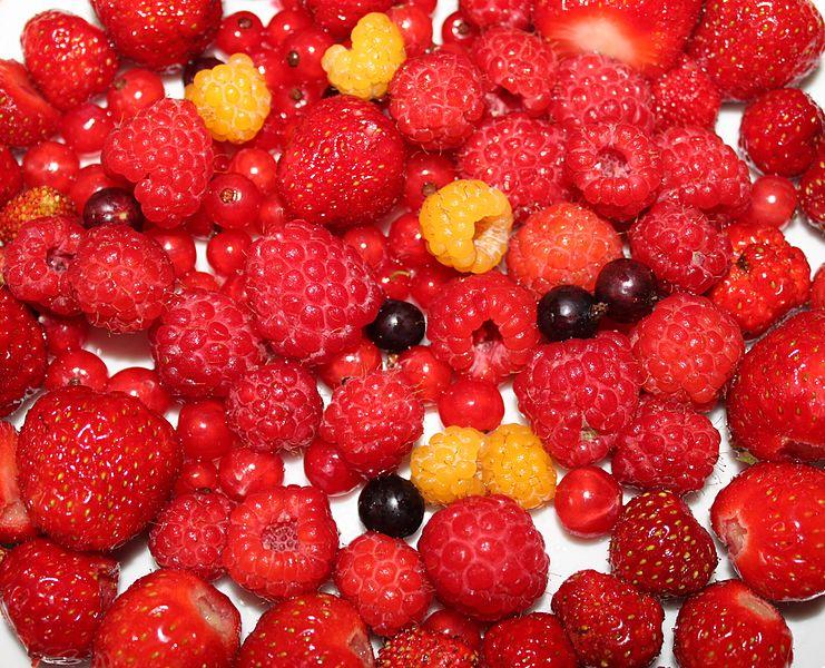 Arômes secondaires du vin : Fruits rouges