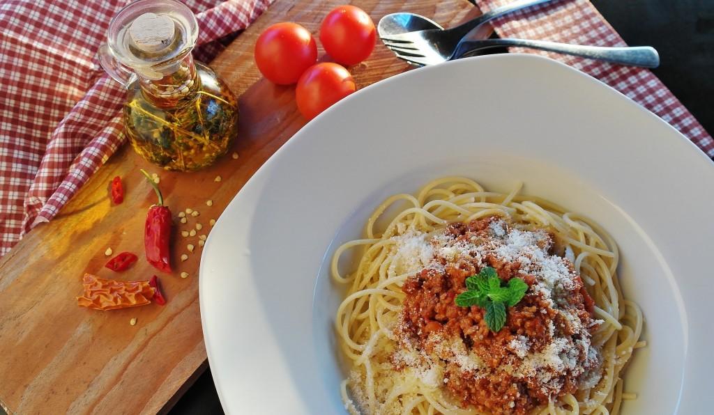 Accords pâtes et vins : Bolognaise