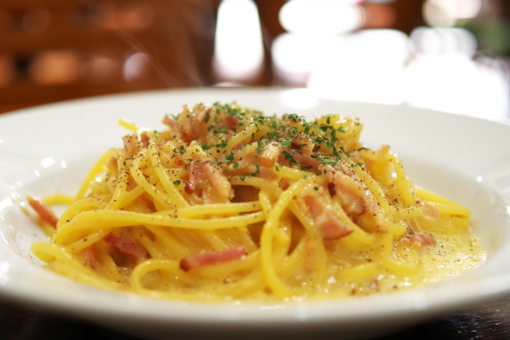 Accords pâtes et vins : Carbonara