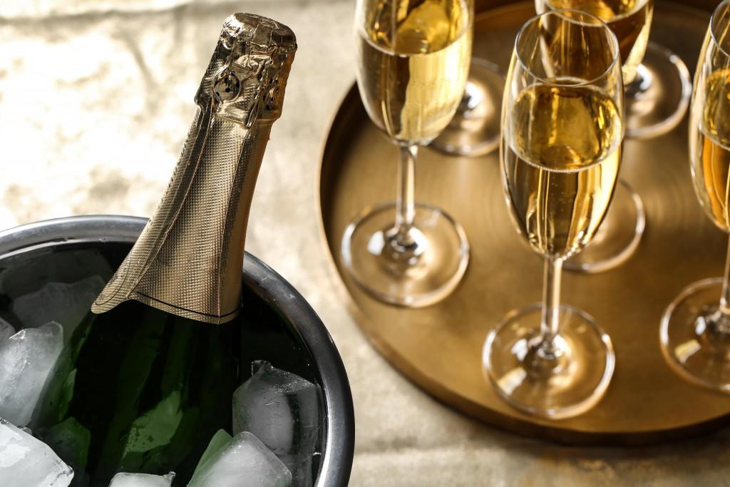 Bulles dans le vin : Champagne