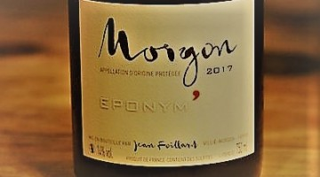 Jean Foillard : Le beaujolais d'excellence