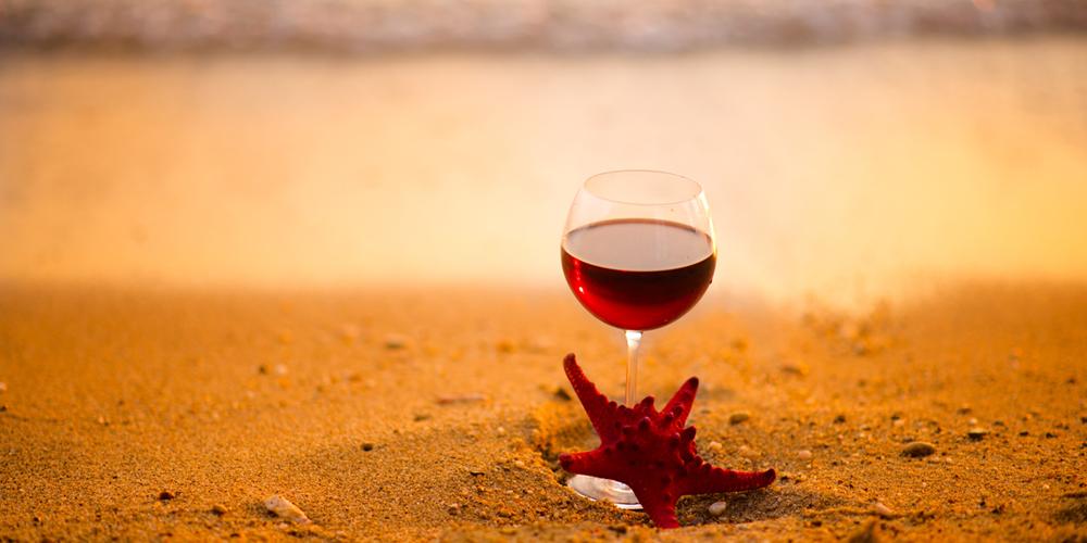 vin élevé sous la mer